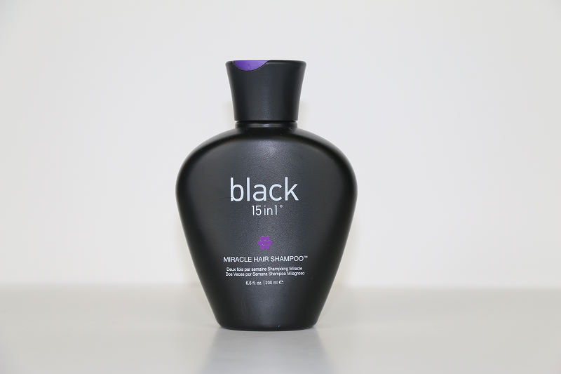 Black 15 in 1 Miracle Hair Shampoo