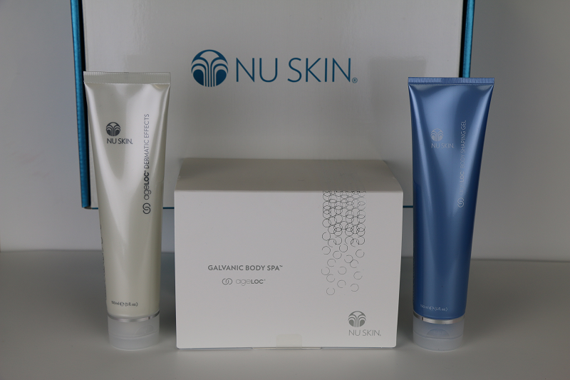 Nu Skin Galvani Body Spa Ageloc Dermatic Effects Ageloc Body Shaping Gel